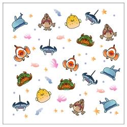 ゆる〜いお魚達