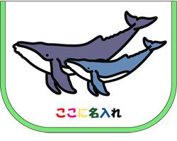 ザトウクジラ親子